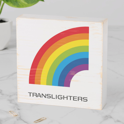 How to use Translighters Digital Products print on the wood