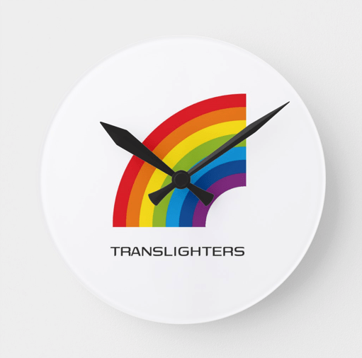 How to use Translighters Digital Products wall clock